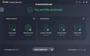 AVG Internet Security 21.7.3193 Crack Lifetime License Key (2022)